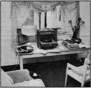 Marianne's flat in Lennox Gardens